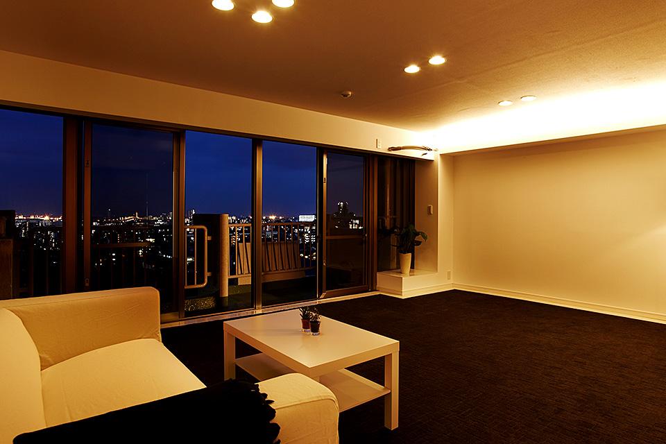 眺望の良いホテルライクな家
